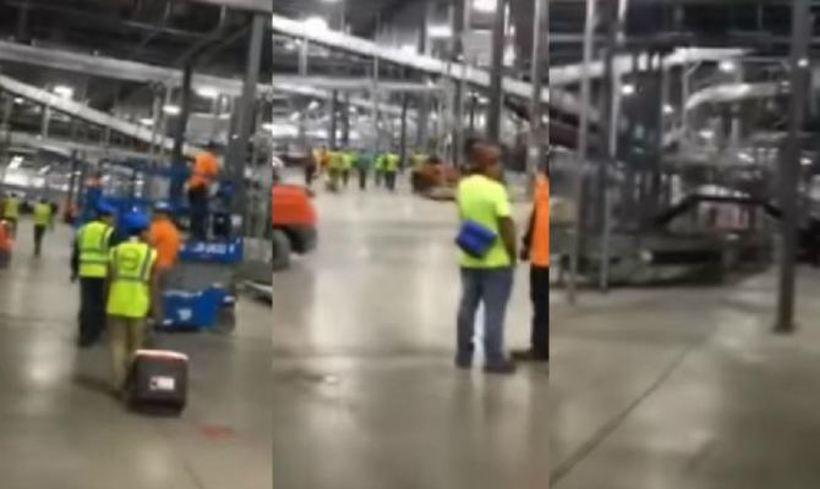 ЈА НАПУШТИЛЕ РАБОТАТА ПОРАДИ СОЛИДАРНОСТ КОН КОЛЕГИТЕ: Моќна видео снимка која ја покажа вистинската сила на работникот!
