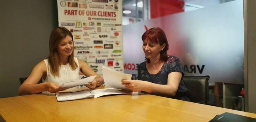 """""""Од практикант до HR менаџер, 14 години ентузијазам за нови предизвици"""" - Интервју со Павлина и Даниела, дел од тимот на Вработување"""