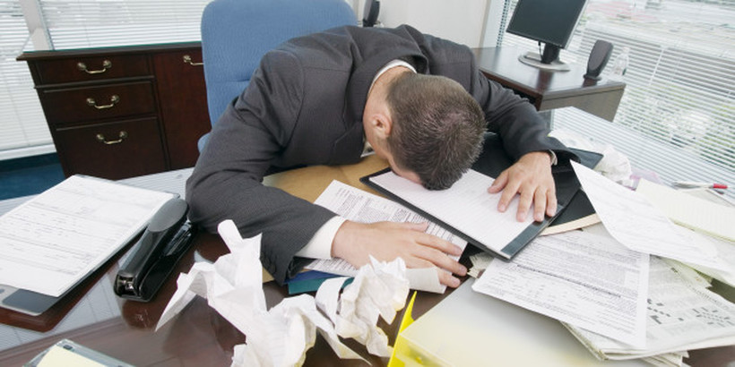 6 здравствени последици кои ги носи стресот на работното место