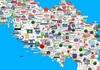 МАПА: Погледнете што сè некогаш се произведуваше во Југославија