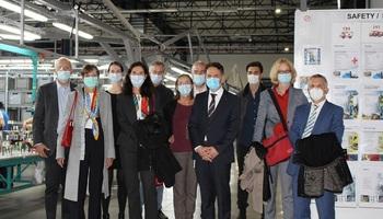 Германските амбасадори од регионот во посета на  Дрекслмајер Кавадарци