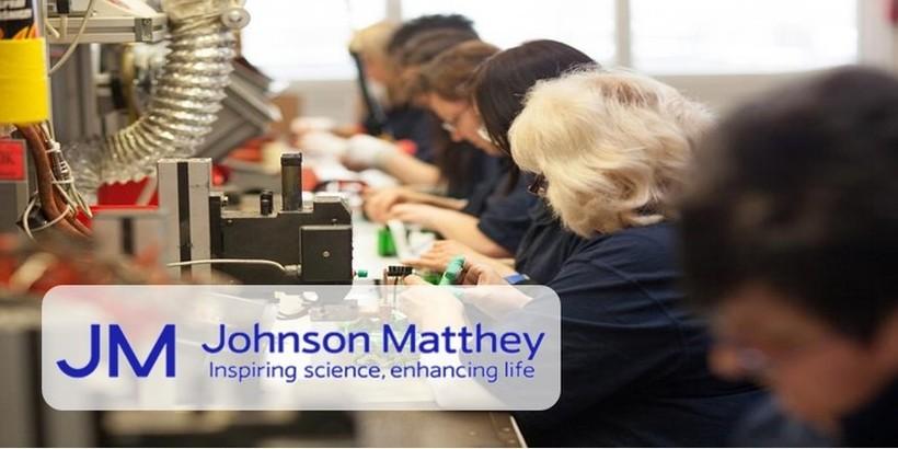 JOHNSON MATTHEY ВРАБОТУВА