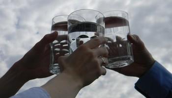 Еве зошто не се наздравува со вода